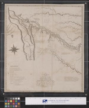 Primary view of object titled 'A Chart of the Internal Part of Louisiana'.