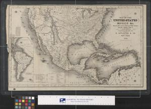 Map of the United States Mexico &c. 1849.