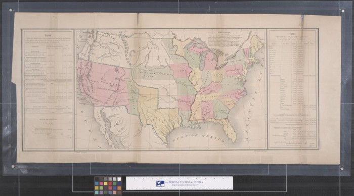 Map Of The United States After The Treaty Of Guadalupe Hidalgo - Guadalupe hidalgo on us map