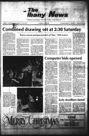 Primary view of object titled 'The Albany News (Albany, Tex.), Vol. 109, No. 27, Ed. 1 Thursday, December 20, 1984'.