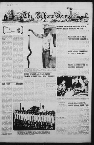 The Albany News (Albany, Tex.), Vol. 100, No. 7, Ed. 1 Thursday, August 14, 1975