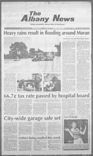 Primary view of object titled 'The Albany News (Albany, Tex.), Vol. 121, No. 16, Ed. 1 Thursday, September 19, 1996'.