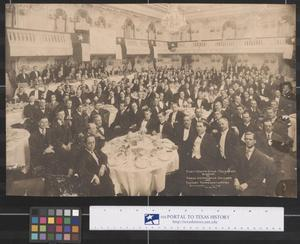Primary view of object titled 'Texas Automobile Dealers and Factory Representatives Banquet, 1916'.