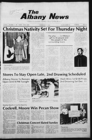 Primary view of object titled 'The Albany News (Albany, Tex.), Vol. 107, No. 25, Ed. 1 Thursday, December 9, 1982'.