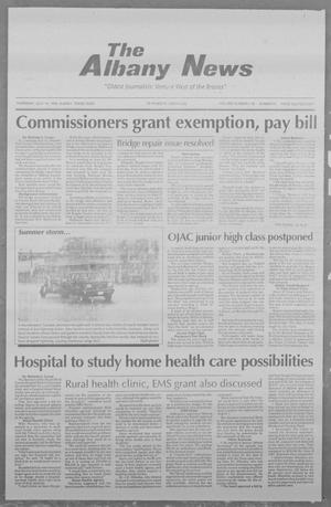 Primary view of object titled 'The Albany News (Albany, Tex.), Vol. 119, No. 6, Ed. 1 Thursday, July 14, 1994'.