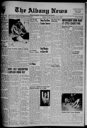 Primary view of object titled 'The Albany News (Albany, Tex.), Vol. 78, No. 44, Ed. 1 Thursday, July 5, 1962'.
