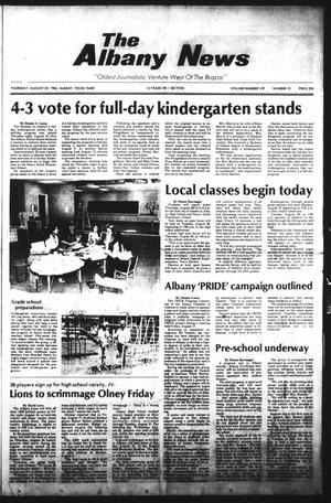 Primary view of object titled 'The Albany News (Albany, Tex.), Vol. 109, No. 10, Ed. 1 Thursday, August 23, 1984'.