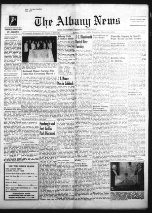 Primary view of object titled 'The Albany News (Albany, Tex.), Vol. 86, No. 29, Ed. 1 Thursday, March 12, 1970'.