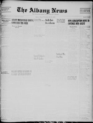 Primary view of object titled 'The Albany News (Albany, Tex.), Vol. 71, No. 46, Ed. 1 Thursday, July 28, 1955'.