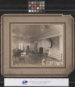 Primary view of object titled 'Interior of the Bensiria Home in Ft. Worth, Texas'.