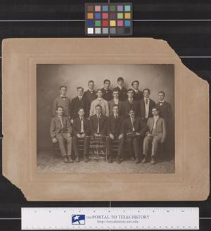 Primary view of object titled 'Coming Men of America, Panther City Lodge No. 2640, 1904'.