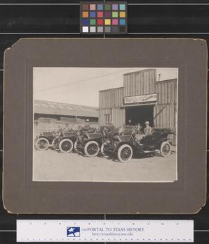 Primary view of object titled 'Ernest O. Thompson, Overland Automobiles 1909'.