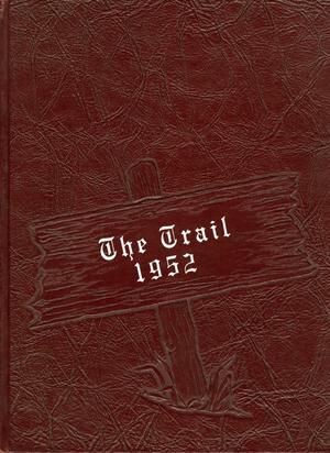 Primary view of object titled 'The Trail, Yearbook of Daniel Baker College, 1952'.
