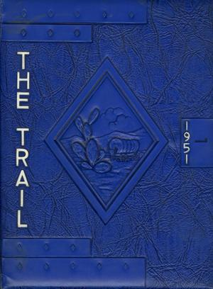 Primary view of object titled 'The Trail, Yearbook of Daniel Baker College, 1951'.