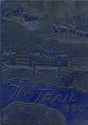The Trail, Yearbook of Daniel Baker College, 1950