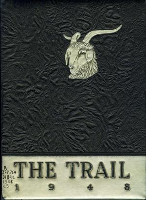 Primary view of object titled 'The Trail, Yearbook of Daniel Baker College, 1948'.
