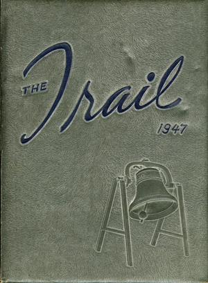 Primary view of object titled 'The Trail, Yearbook of Daniel Baker College, 1947'.