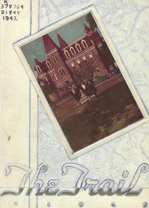The Trail, Yearbook of Daniel Baker College, 1942
