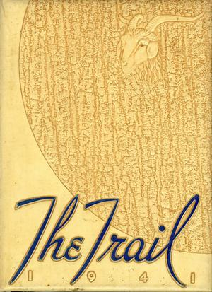 Primary view of object titled 'The Trail, Yearbook of Daniel Baker College, 1941'.