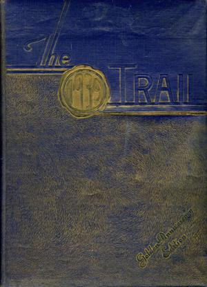 Primary view of object titled 'The Trail, Yearbook of Daniel Baker College, 1939'.