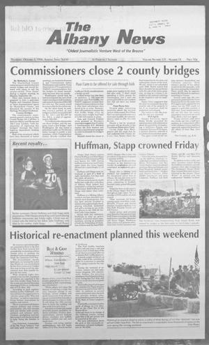 Primary view of object titled 'The Albany News (Albany, Tex.), Vol. 121, No. 18, Ed. 1 Thursday, October 3, 1996'.
