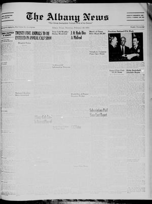 Primary view of object titled 'The Albany News (Albany, Tex.), Vol. 74, No. 24, Ed. 1 Thursday, February 20, 1958'.