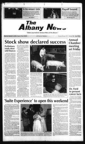 Primary view of object titled 'The Albany News (Albany, Tex.), Vol. 129, No. 36, Ed. 1 Thursday, February 3, 2005'.