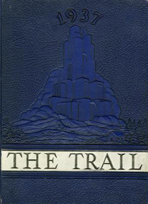 Primary view of object titled 'The Trail, Yearbook of Daniel Baker College, 1937'.