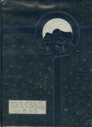 Primary view of object titled 'The Trail, Yearbook of Daniel Baker College, 1933'.