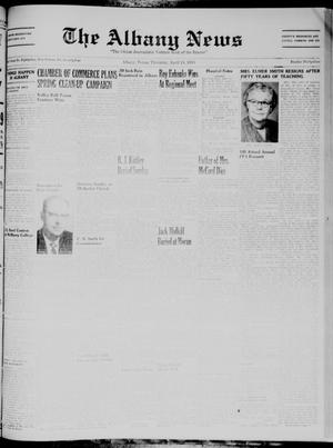 Primary view of object titled 'The Albany News (Albany, Tex.), Vol. 74, No. 33, Ed. 1 Thursday, April 24, 1958'.