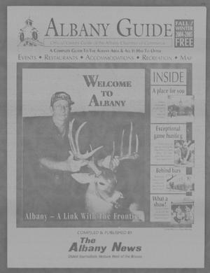 Primary view of object titled 'Albany Guide: Official Visitors Guide of the Albany Chamber of Commerce, Vol. 8, No. 2, Fall/Winter 2004-2005'.