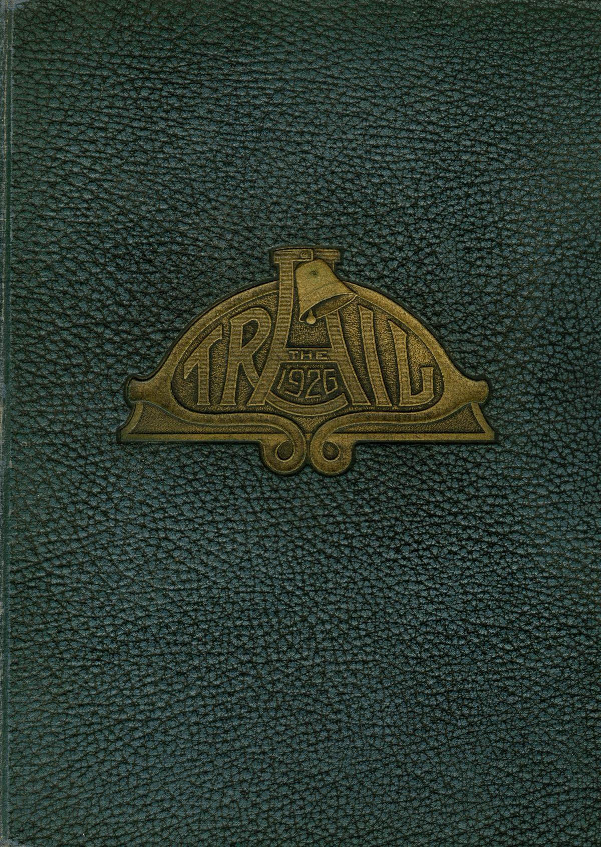 The Trail, Yearbook of Daniel Baker College, 1926                                                                                                      Front Cover