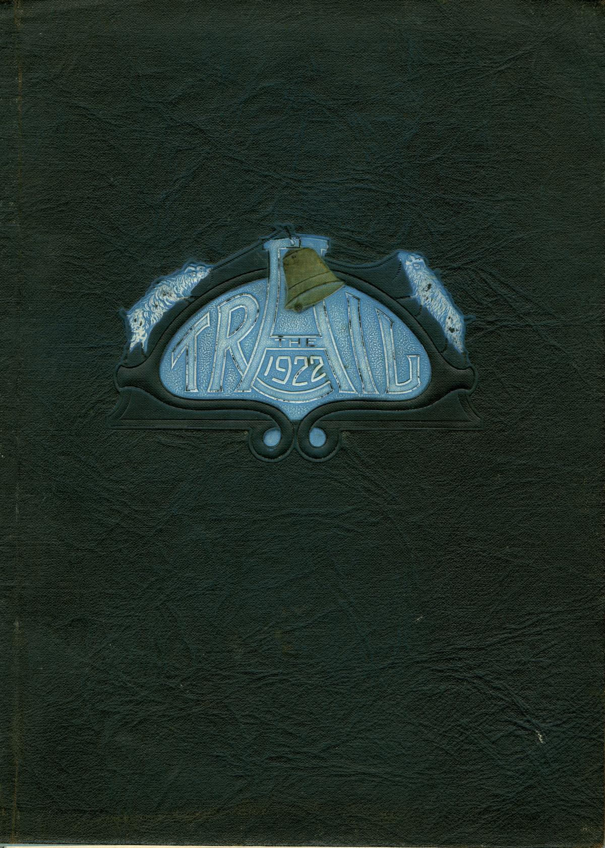 The Trail, Yearbook of Daniel Baker College, 1922                                                                                                      Front Cover