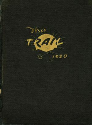 Primary view of object titled 'The Trail, Yearbook of Daniel Baker College, 1920'.