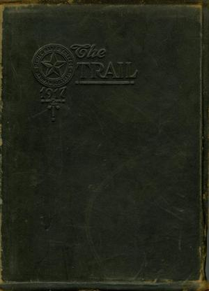 Primary view of object titled 'The Trail, Yearbook of Daniel Baker College, 1917'.