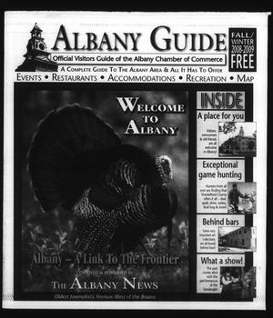 Primary view of object titled 'Albany Guide: Official Visitors Guide of the Albany Chamber of Commerce, Vol. 12, No. 2, Fall/Winter 2008-2009'.