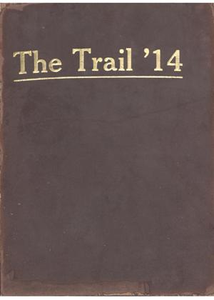 Primary view of object titled 'The Trail, Yearbook of Daniel Baker College, 1914'.