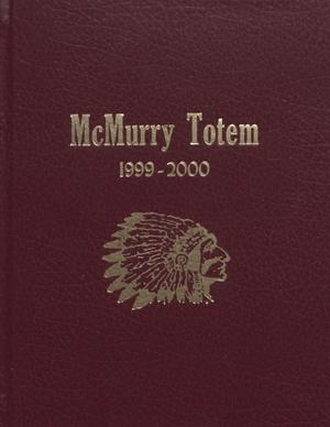 Primary view of object titled 'The Totem, Yearbook of McMurry University, 2000'.