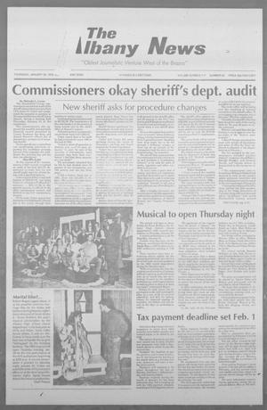 Primary view of object titled 'The Albany News (Albany, Tex.), Vol. 117, No. 34, Ed. 1 Thursday, January 28, 1993'.