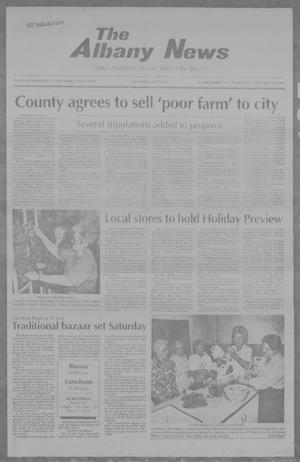 Primary view of object titled 'The Albany News (Albany, Tex.), Vol. 112, No. 23, Ed. 1 Thursday, November 12, 1992'.