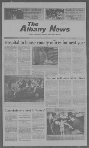 Primary view of object titled 'The Albany News (Albany, Tex.), Vol. 125, No. 12, Ed. 1 Thursday, August 17, 2000'.