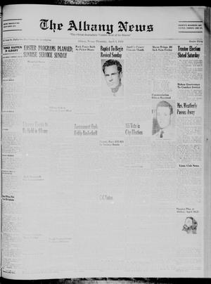 Primary view of object titled 'The Albany News (Albany, Tex.), Vol. 74, No. 30, Ed. 1 Thursday, April 3, 1958'.