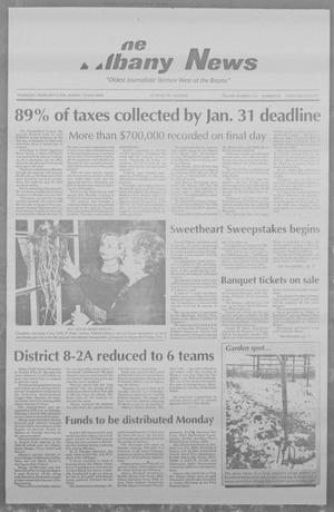 Primary view of object titled 'The Albany News (Albany, Tex.), Vol. 118, No. 35, Ed. 1 Thursday, February 3, 1994'.