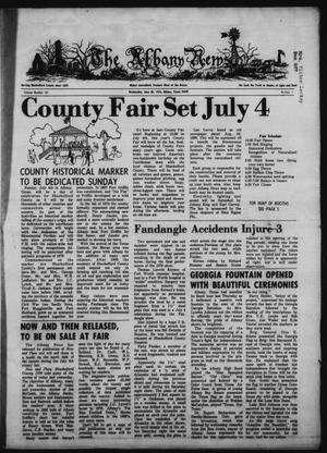 Primary view of object titled 'The Albany News (Albany, Tex.), Vol. 101, No. 1, Ed. 1 Wednesday, June 30, 1976'.