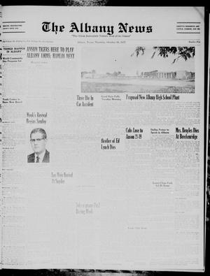 Primary view of object titled 'The Albany News (Albany, Tex.), Vol. 74, No. 5, Ed. 1 Thursday, October 10, 1957'.