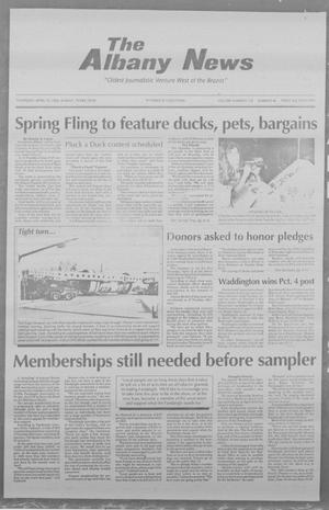 Primary view of object titled 'The Albany News (Albany, Tex.), Vol. 118, No. 45, Ed. 1 Thursday, April 14, 1994'.