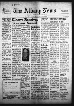 Primary view of object titled 'The Albany News (Albany, Tex.), Vol. 87, No. 15, Ed. 1 Thursday, December 3, 1970'.