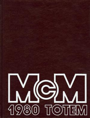 Primary view of object titled 'The Totem, Yearbook of McMurry College, 1980'.