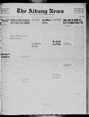 Primary view of object titled 'The Albany News (Albany, Tex.), Vol. 74, No. 6, Ed. 1 Thursday, October 17, 1957'.