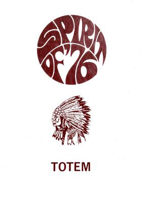 Primary view of object titled 'The Totem, Yearbook of McMurry College, 1976'.